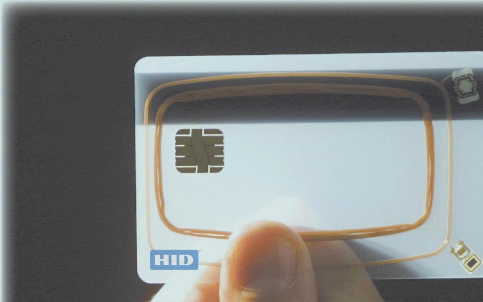 Kontrola pristupa - kartica